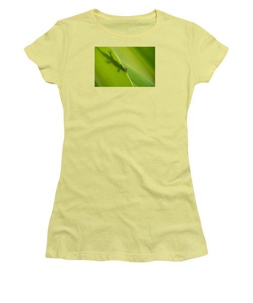 Women's T-Shirt (Junior Cut) featuring the photograph Hidden In Plain Sight by Christina Lihani