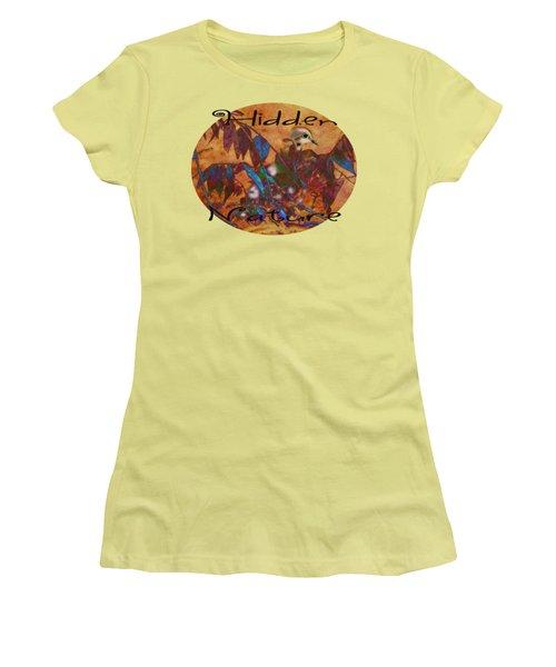 Hidden Nature - Abstract Women's T-Shirt (Junior Cut) by Anita Faye