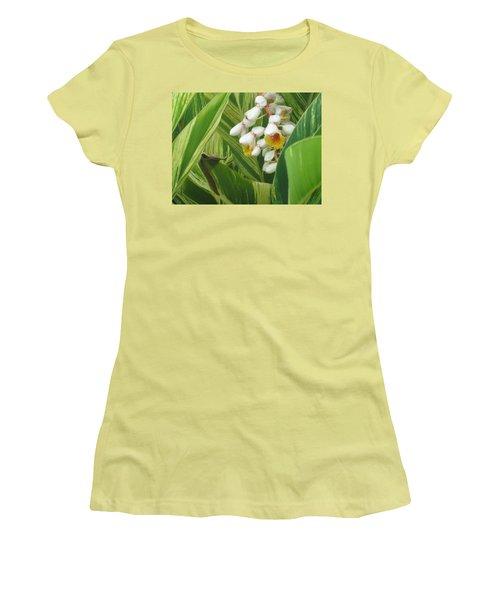 Hidden Tropic Women's T-Shirt (Athletic Fit)