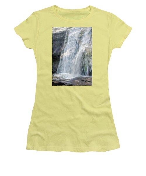 High Falls Three Women's T-Shirt (Junior Cut) by Steven Richardson