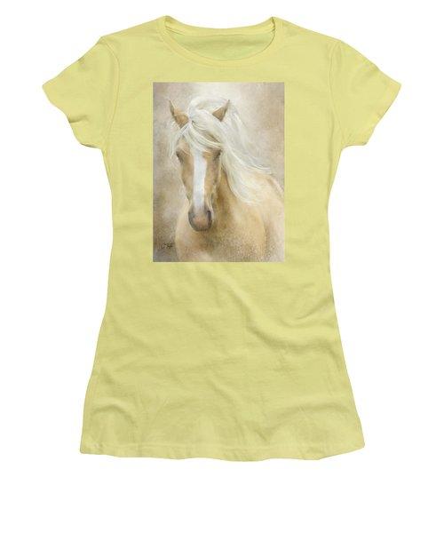 Spun Sugar Women's T-Shirt (Junior Cut) by Colleen Taylor