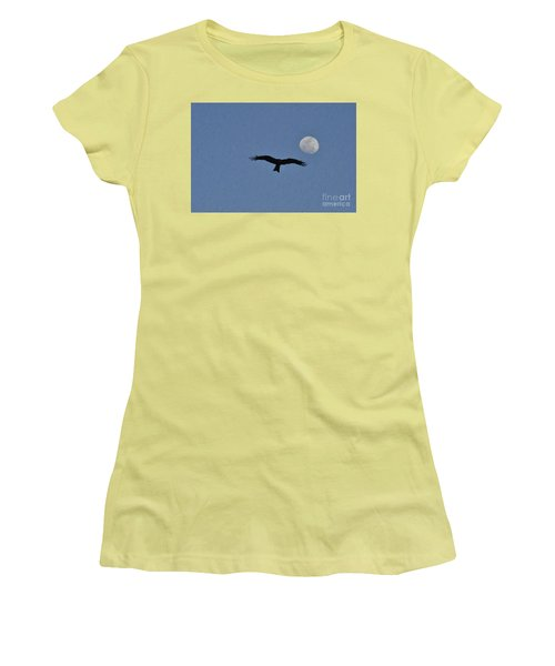 High In The Sky Women's T-Shirt (Athletic Fit)