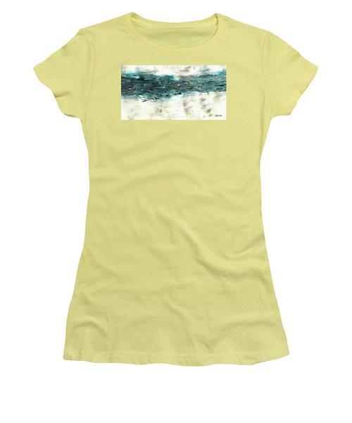 High Tide Women's T-Shirt (Junior Cut) by Carmen Guedez