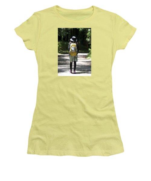 Hiker Women's T-Shirt (Athletic Fit)
