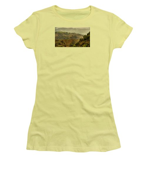 Hills Above Anderson Valley Women's T-Shirt (Athletic Fit)