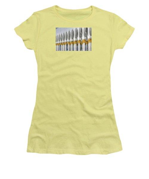 Hinduism Arch Women's T-Shirt (Junior Cut) by John Swartz