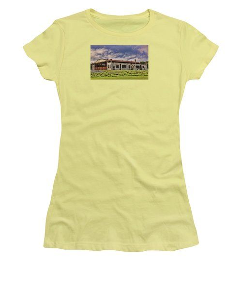 Historic Curtiss Wright Hanger Women's T-Shirt (Athletic Fit)