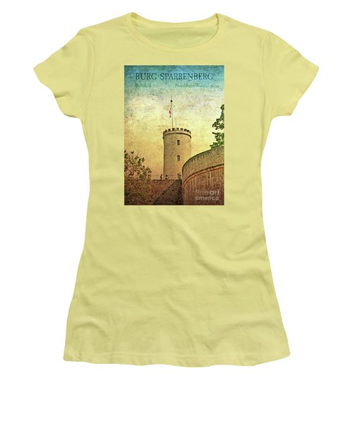 Historic Landmark Sparrenberg Castle Women's T-Shirt (Athletic Fit)