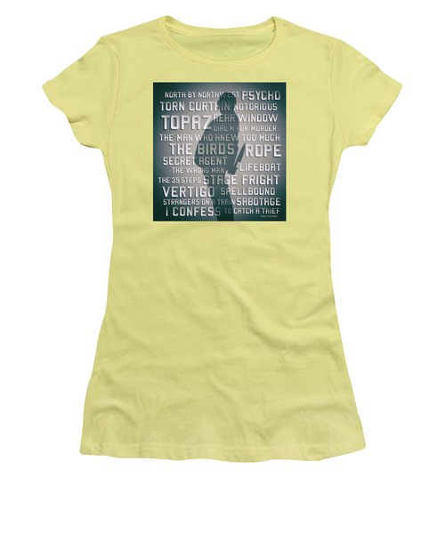 Hitchcock Women's T-Shirt (Athletic Fit)