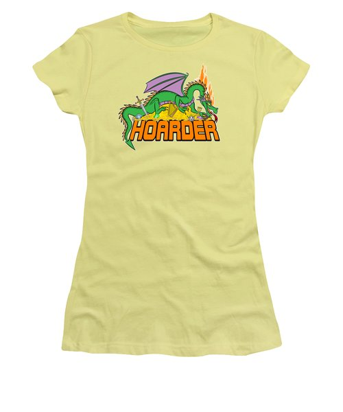 Hoarder Women's T-Shirt (Junior Cut) by J L Meadows