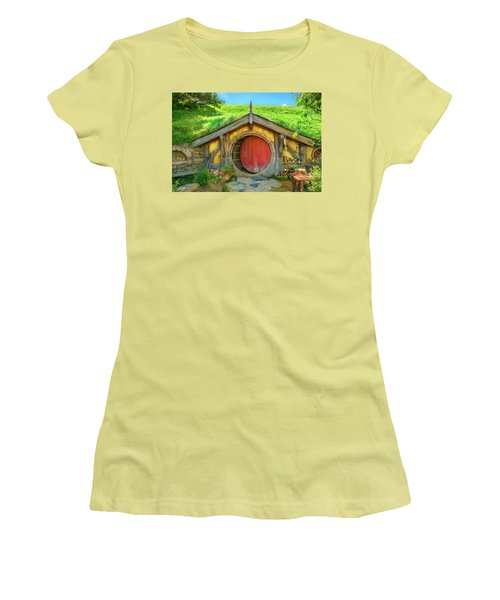 Hobbit House Women's T-Shirt (Junior Cut) by Racheal Christian
