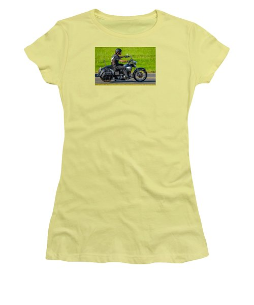 Women's T-Shirt (Junior Cut) featuring the photograph hog by Brian Stevens
