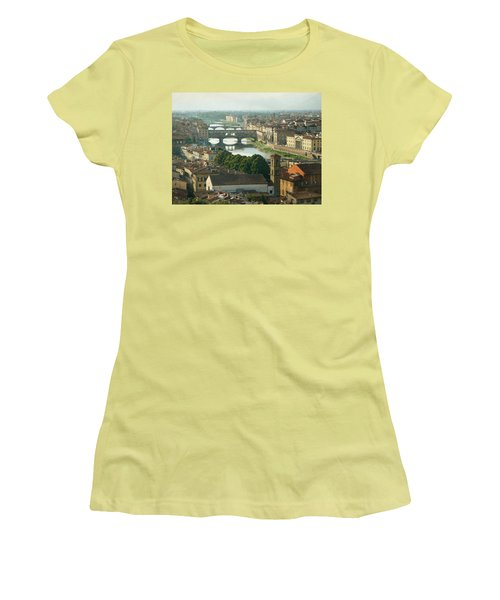 Holding On To Your Love Women's T-Shirt (Junior Cut) by Lucinda Walter