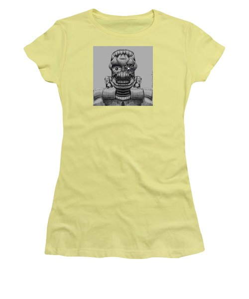 Hole Machine. Women's T-Shirt (Athletic Fit)