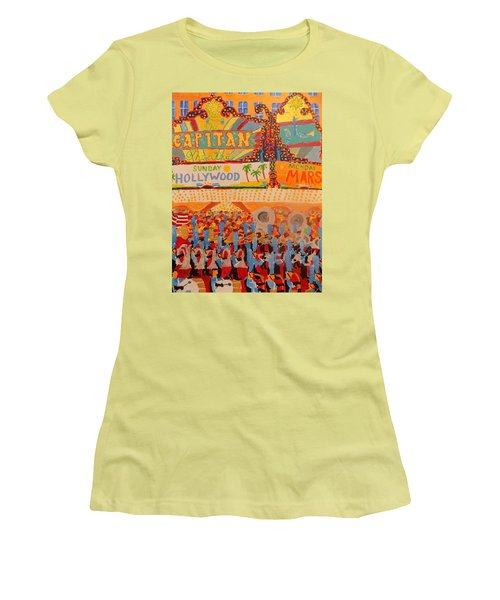 Hollywood Parade Women's T-Shirt (Junior Cut) by Rodger Ellingson