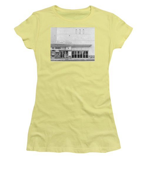 Hollywood Theater Marquee Women's T-Shirt (Athletic Fit)