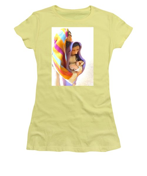 Holy Family Women's T-Shirt (Athletic Fit)