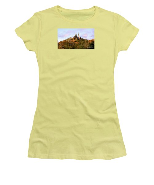 Women's T-Shirt (Junior Cut) featuring the photograph Holy Hill Basilica, National Shrine Of Mary by Ricky L Jones