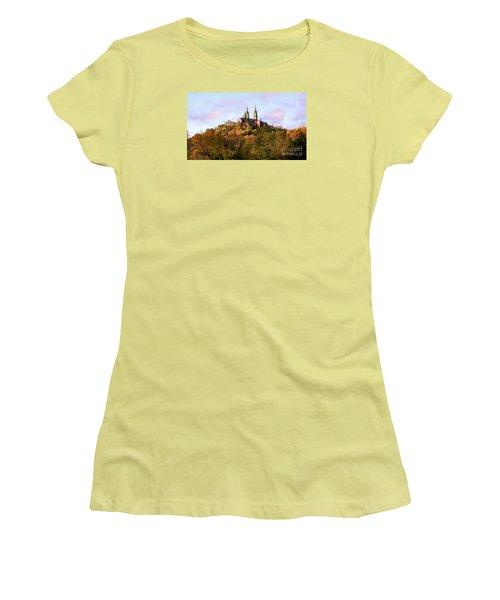 Holy Hill Basilica, National Shrine Of Mary Women's T-Shirt (Junior Cut)