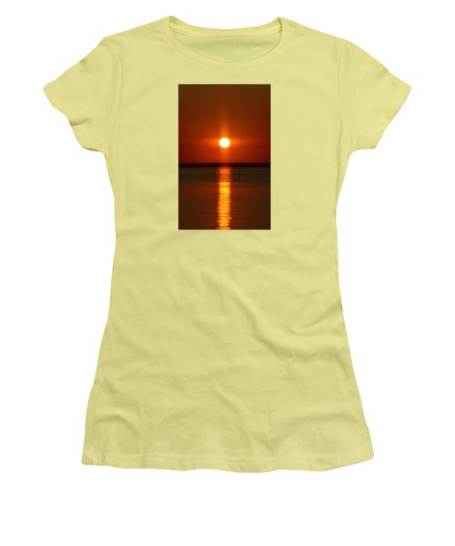 Holy Sunset - Portrait Women's T-Shirt (Junior Cut) by William Bartholomew