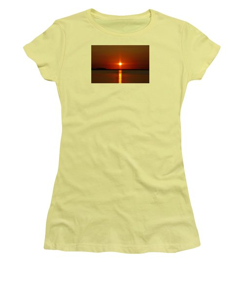 Holy Sunset Women's T-Shirt (Junior Cut) by William Bartholomew