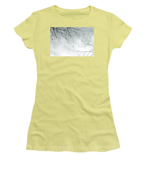 Women's T-Shirt (Junior Cut) featuring the digital art Home by Trilby Cole