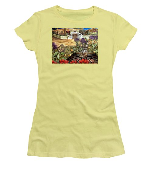 Homesteading Women's T-Shirt (Athletic Fit)