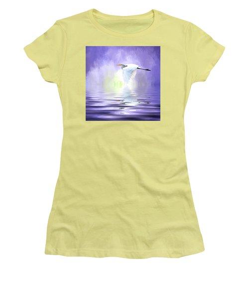 Homeward Bound Women's T-Shirt (Junior Cut) by Cyndy Doty