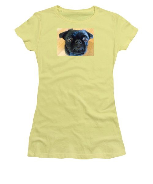 Women's T-Shirt (Junior Cut) featuring the photograph Honestly by Paula Brown