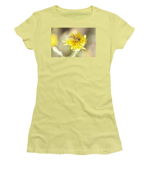 Honeybee Women's T-Shirt (Junior Cut) by Nikki McInnes