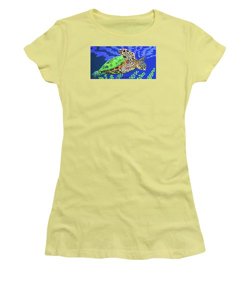 Honu Women's T-Shirt (Athletic Fit)