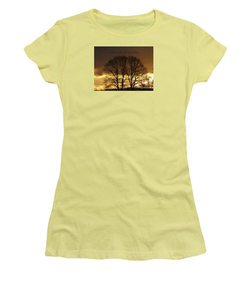 Hope Is On The Horizon Women's T-Shirt (Junior Cut) by Dee Flouton