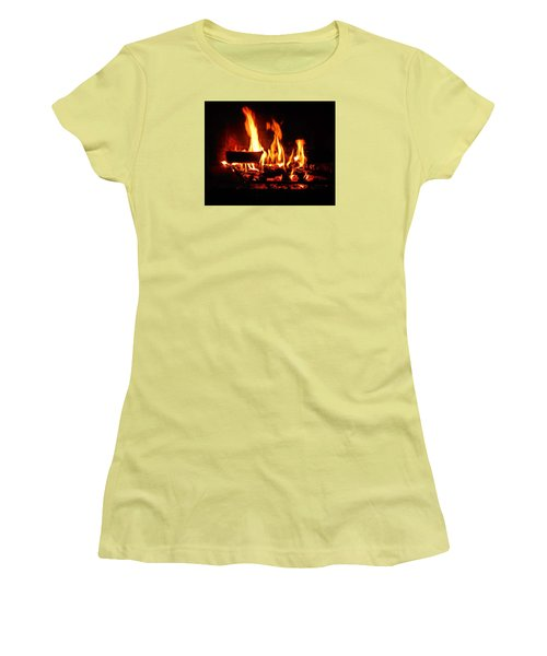 Hot Coals Women's T-Shirt (Athletic Fit)