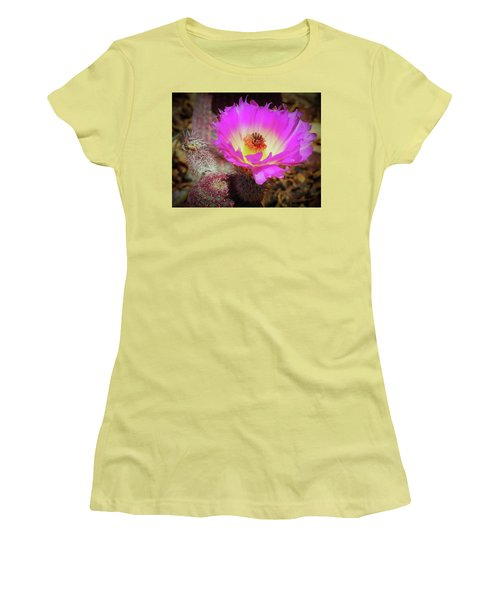 Hot In Pink Women's T-Shirt (Athletic Fit)