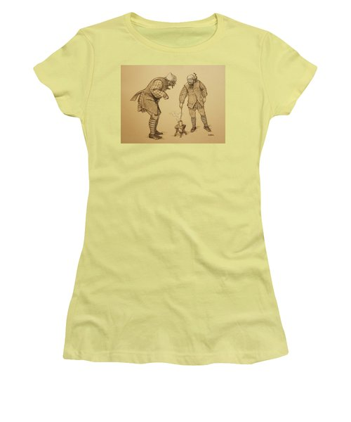 Hot Toddy Women's T-Shirt (Athletic Fit)