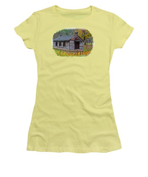 House Of Hope Women's T-Shirt (Athletic Fit)