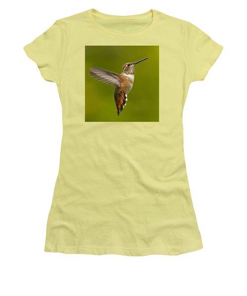 Hover Women's T-Shirt (Junior Cut) by Sheldon Bilsker