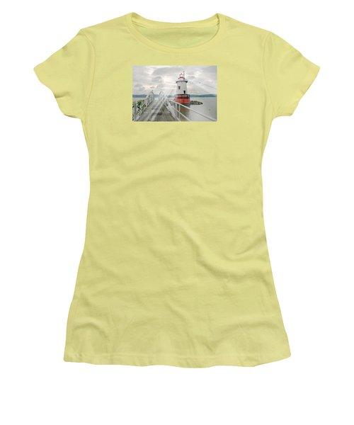 Hudson Light Women's T-Shirt (Junior Cut) by Diana Angstadt