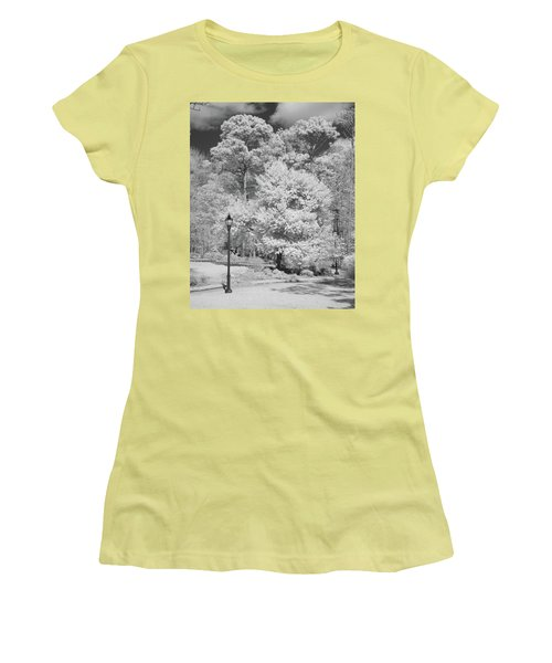 Hugh Macrae Park Women's T-Shirt (Junior Cut) by Denis Lemay
