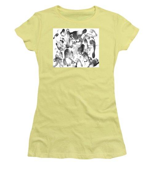 Humans Women's T-Shirt (Athletic Fit)