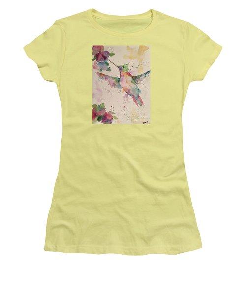 Hummingbird Women's T-Shirt (Junior Cut)