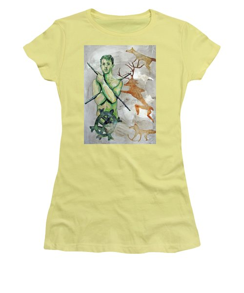 Youth Hunting Turtles Women's T-Shirt (Athletic Fit)
