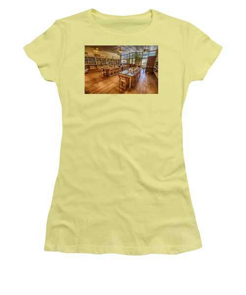 Women's T-Shirt (Junior Cut) featuring the tapestry - textile Hye Market General Store by Kathy Adams Clark