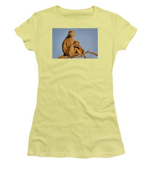 I Am So Scared Mama Women's T-Shirt (Junior Cut) by Joe Bonita