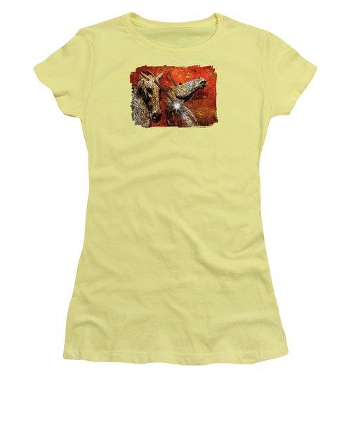 I Believe Women's T-Shirt (Junior Cut) by Terry Fleckney