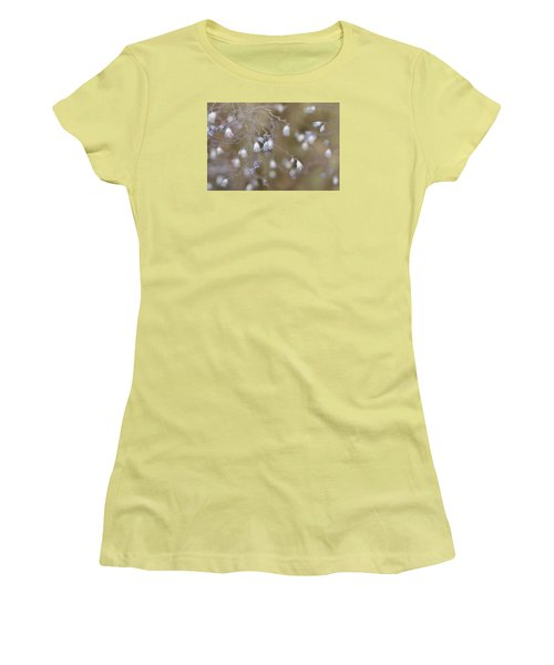 I Dream In Blue Women's T-Shirt (Junior Cut) by The Art Of Marilyn Ridoutt-Greene