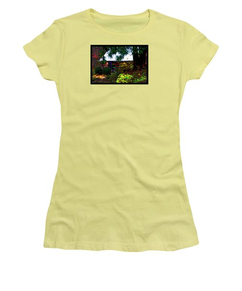 I Dreamt I Was A Cabin Women's T-Shirt (Junior Cut) by Susanne Still