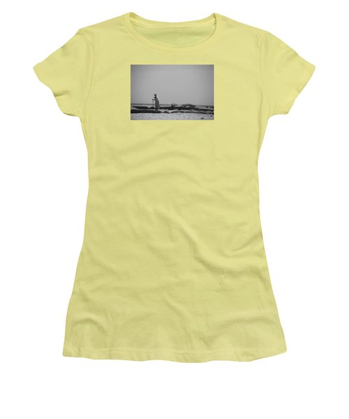 Women's T-Shirt (Junior Cut) featuring the photograph I Know Every Grain  by Jez C Self