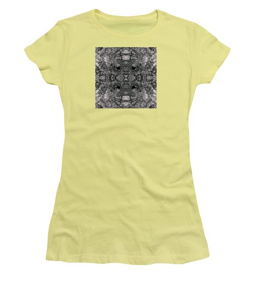 Women's T-Shirt (Junior Cut) featuring the drawing I Left All My Chocolate In Pittsburgh  Series by Jack Dillhunt