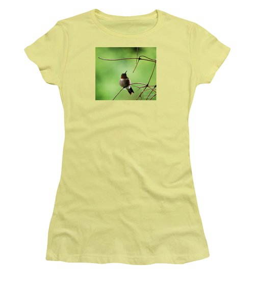 Women's T-Shirt (Junior Cut) featuring the photograph I Need A Drink by Randy Bodkins